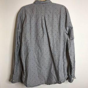 Obey Shirts - Obey Men's XL Button Down shirt Grey